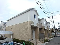 大阪府和泉市上町の賃貸アパートの外観