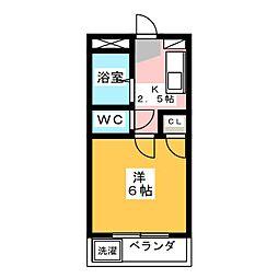 第二富士レイホ−ビル[3階]の間取り