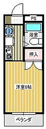 第五橋本ビル[105号室号室]の間取り