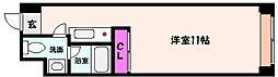 神戸新交通六甲アイランド線 アイランドセンター駅 徒歩5分の賃貸マンション 8階1Kの間取り