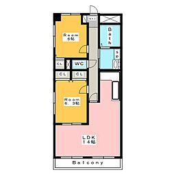 和泉乃郷I号館[3階]の間取り