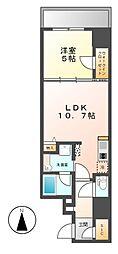 ダイワシティー大須[8階]の間取り