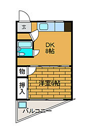 小林ビル[2階]の間取り