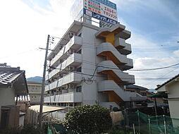広島県広島市安佐南区上安2の賃貸マンションの外観