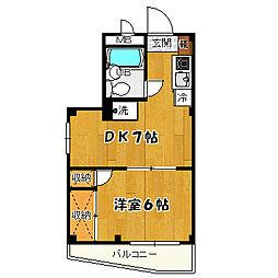 当麻ビル[203号室]の外観