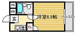 ドリームハイツ[3階]の間取り