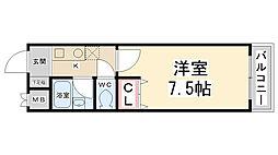 SEIKA[201号室]の間取り