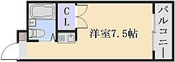 ロイヤルガーデン[3階]の間取り
