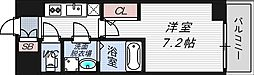 プランドール新大阪PARKレジデンス[5階]の間取り