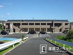 愛知県豊田市本田町池下の賃貸アパートの外観