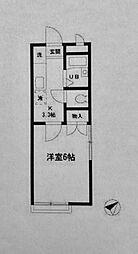 稲荷屋[103号室]の間取り