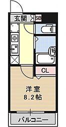 壬生AiAiハイツ[201号室号室]の間取り