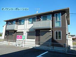 兵庫県三木市末広1丁目の賃貸アパートの外観
