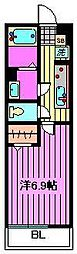 リブリ・上木崎[3階]の間取り