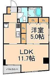 東京凱ショウビル[6階]の間取り