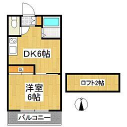 アーベルIII[2階]の間取り