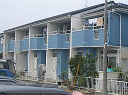 千葉県松戸市稔台の賃貸アパートの外観