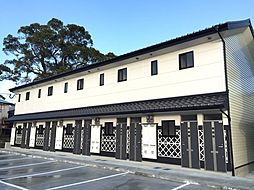 福岡県八女市本町の賃貸アパートの外観