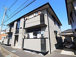 千葉県流山市松ケ丘5丁目の賃貸アパートの外観