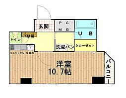 エトワール山手KOYAMA[5階]の間取り