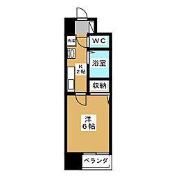 S−FORT京都西大路[5階]の間取り
