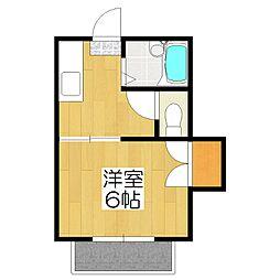 松ヶ崎レジデンス[205号室]の間取り