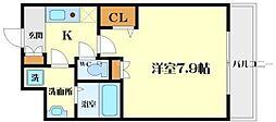 アーデン江坂III[3階]の間取り
