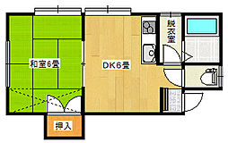 アルビヨン東栄町[1階]の間取り