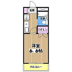恋ヶ窪・壱番館[2階]の間取り