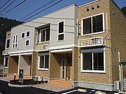 兵庫県豊岡市城崎町今津の賃貸アパートの外観