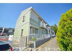 大阪府枚方市東香里新町の賃貸アパートの外観