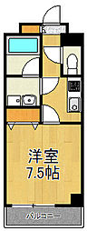 神奈川県横浜市戸塚区矢部町の賃貸マンションの間取り