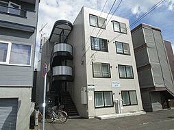 北海道札幌市東区北四十四条東15丁目の賃貸マンションの外観