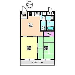 アルファ 216[2階]の間取り