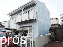 大阪府高槻市西面中1丁目の賃貸アパートの外観