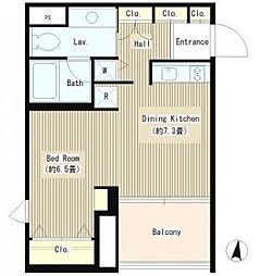 富ケ谷アパートメント[2階]の間取り