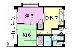 ファインステージ浅井[302 号室号室]の間取り