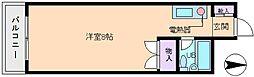 シャレール長居[3階]の間取り