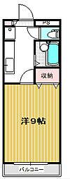 メゾンホーユー[1階]の間取り