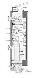 ZOOM都庁前(ズーム都庁前)[9階]の間取り