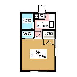 パルゾーンI[2階]の間取り