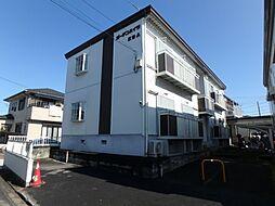 埼玉県川越市大字下広谷の賃貸アパートの外観