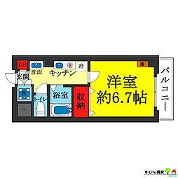 藤貴エイト[4階]の間取り