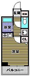 コーポマサキ[516号室]の間取り
