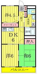 柏央ビル[6階]の間取り