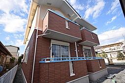 栃木県宇都宮市緑2丁目の賃貸アパートの外観