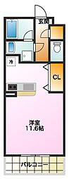 Lapis2[3階]の間取り