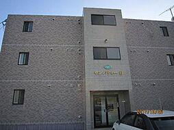 栃木県宇都宮市野沢町の賃貸マンションの外観