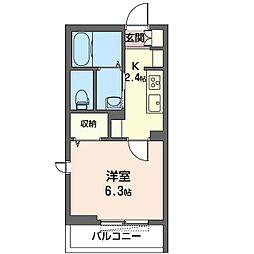 仮)稲毛区轟町SHM[2階]の間取り