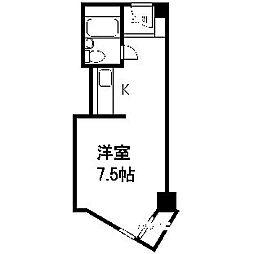 平岸パークマンション[213号室]の間取り